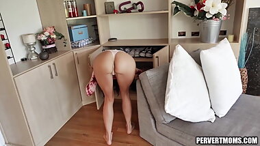 Horny Latina MILF Gets Fingered and Fucked POV Style