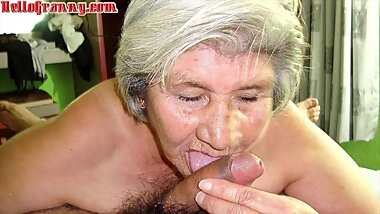 HelloGrannY Well Aged Latin Slideshow Compilation