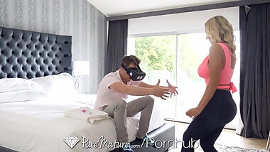 thestepmomporn. com - My Horny Stepmom Tight Pussy Destroyed