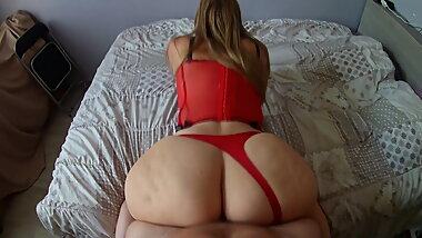 The best pov doggystyle in the world with a French pawg!