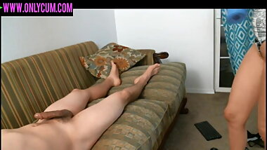 my girlfriend suck and riding my cock on live cam